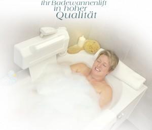 Hilfsmittel - Badewannenlifter